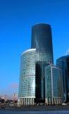 Башни города Москвы делового центра Стоковая Фотография RF