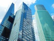 Башни города Москвы Стоковая Фотография