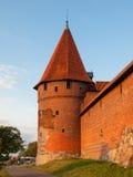 Башни городища в Мальборке Стоковые Фото