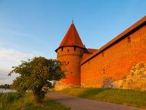 Башни городища в Мальборке Стоковое фото RF