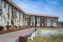 Башни градации в холодном зимнем дне Стоковые Изображения RF