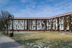 Башни градации в холодном зимнем дне Стоковые Фото