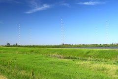 башни Длинн-волны радио-передавая Стоковые Фотографии RF