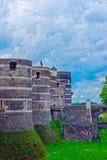 Башни замка злят замок стоковое изображение