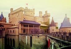Башни замка фантазии готического Стоковая Фотография
