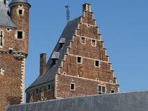 2 башни замка Стоковые Фотографии RF