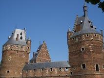 3 башни замка Стоковые Фотографии RF