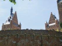 2 башни замка Стоковая Фотография