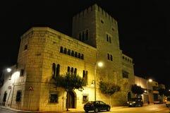 Башни замка Alcala Стоковые Изображения RF