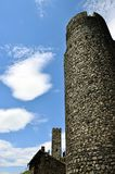 Башни замка - Hazmburk Стоковое Изображение