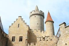 Башни замка Kokorin Стоковые Изображения