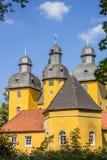 Башни замка Schloss Holte-Stukenbrock Стоковые Изображения RF