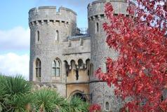 Башни замка Widsor в Великобритании Стоковые Фото