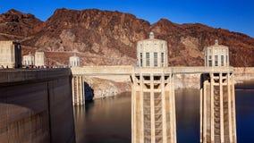 Башни запруды Hoover Стоковые Изображения RF