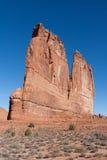 Башни здания суда на национальном парке сводов Стоковое Фото