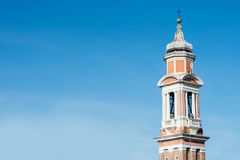 Башни и steeples в Венеции Стоковые Изображения