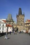 Башни Карлова моста, Праги, чехии Стоковая Фотография RF