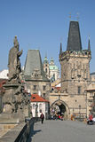 Башни Карлова моста, Праги, чехии Стоковое фото RF