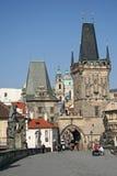 Башни Карлова моста, Праги, чехии Стоковое Фото