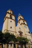 Башни колокола церков, Orgiva, Испания. Стоковое Фото