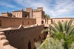 Башни красивого Kasbah Amridil, Марокко Стоковые Изображения RF