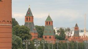 Башни Кремля в лете Стоковое Фото
