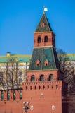 Башни Кремля в Москве, России Стоковое Изображение