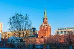 Башни Кремля в Москве, России Стоковые Фото