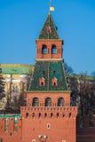 Башни Кремля в Москве, России Стоковые Изображения RF