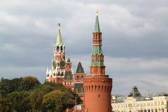 Башни Кремля в Москве Стоковое фото RF