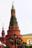 Башни Кремля Стоковые Изображения RF