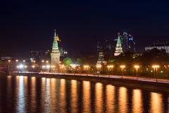 Башни Кремля Стоковое Изображение RF