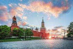 Башни Кремля Стоковая Фотография RF