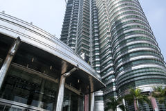 башни Куала Лумпур Малайзии petronas Стоковое Изображение RF