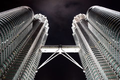 башни Куала Лумпур Малайзии petronas Стоковые Изображения