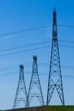 башни линии электропередач Стоковая Фотография