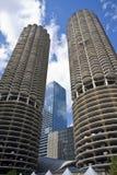 башни Марины chicago Стоковые Фото