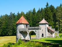 2 башни малого замка Masun леса Стоковые Фото