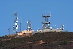 башни места микроволны клетки Стоковая Фотография RF