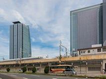 Башни МЛАДШЕГО центральные станции Нагои в Японии Стоковые Изображения