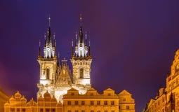 Башни на старой городской площади Стоковые Фотографии RF