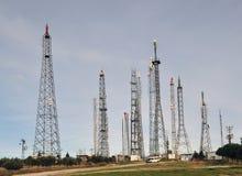 башни неба радио стоковые изображения rf