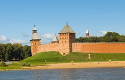 Башни Новгорода Кремля Стоковые Фото