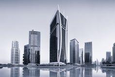 Башни озер Jumeirah в Дубай, Объединенных эмиратах Стоковое Изображение