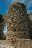 Башни около входа Evoramonte стоковые изображения