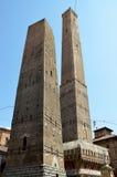 2 башни (должное Torri) Стоковые Изображения