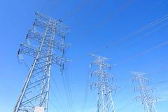 Башни передачи наивысшей мощности Стоковые Изображения