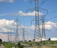 Башни передачи электричества Стоковая Фотография RF