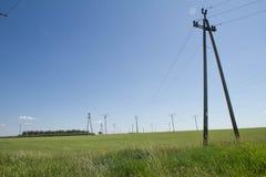 Башни передачи Стоковая Фотография RF