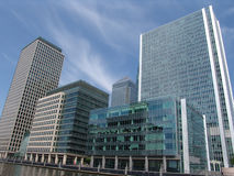 Башни причала Лондон канереечные Стоковые Изображения RF